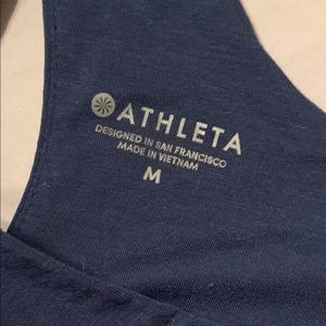 Green/blue Athleta Tank top